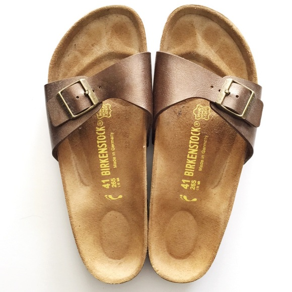 on sale 6e88a d7028 Metallic Birkenstock Madrid Sandals